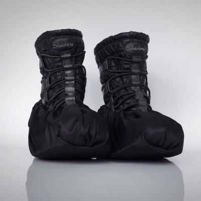 návleky na topánky / čierne