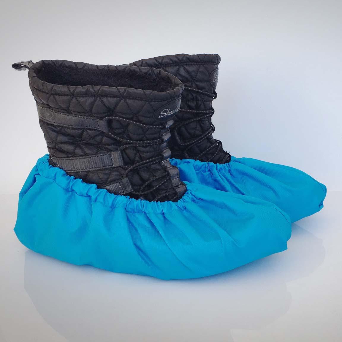 návleky na topánky / modré