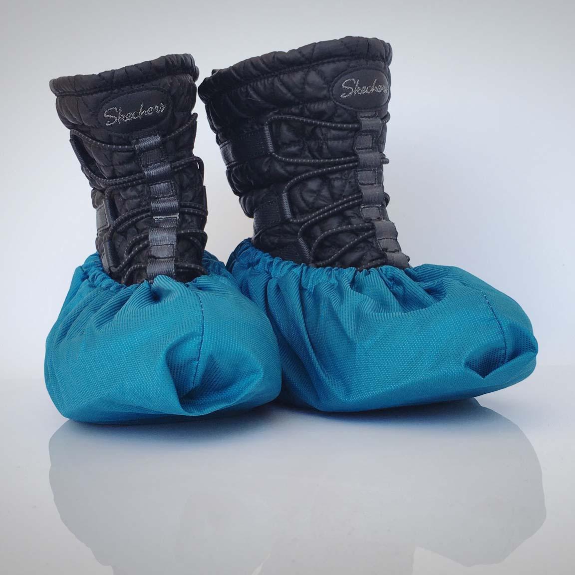 návleky na topánky / petrolejové