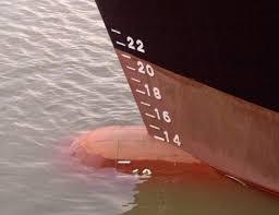 Как снять осадку судна