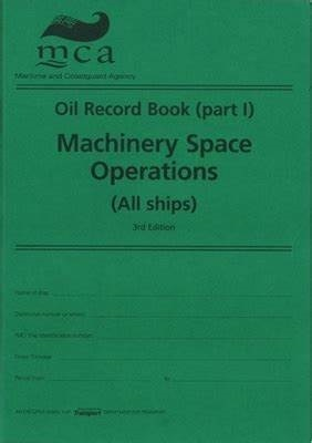 OIP Guide to correct entries in Oil Record Book