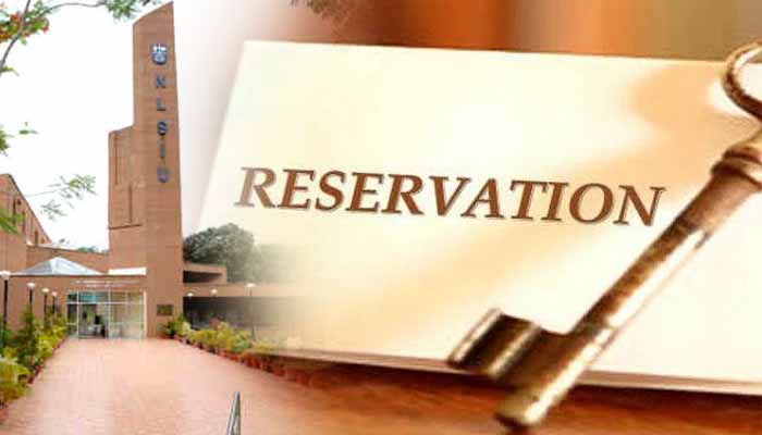 Even before the hearing, of the petition granting 25 percent reservation, the judge himself,