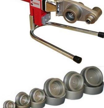 Сварочный аппарат для сварки полипропиленовых труб.