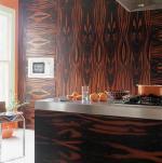 Альтернативне покриття стін для кухні