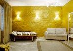 Стіна як елемент декору — фарби та структурні штукатурки