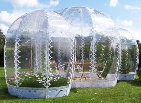 Невидимый домик садовый в качестве метода локальное потепление