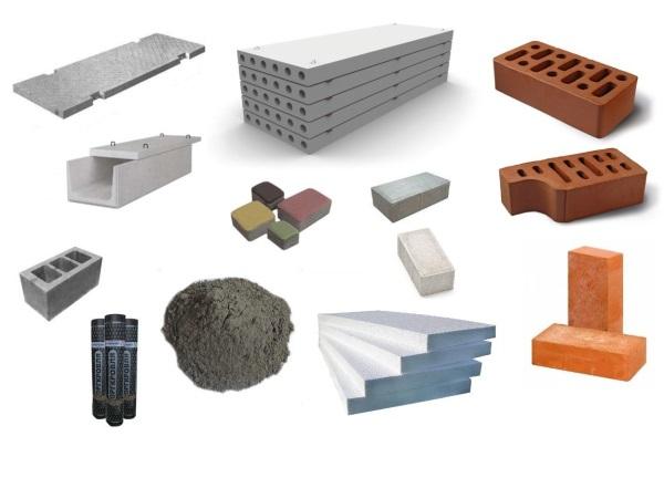 Строительные материалы.
