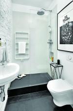 Идеальное обустройство маленькой ванной комнаты в квартире. Фото