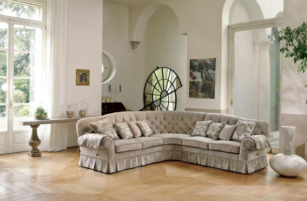 диван в итальянском стиле и итальянские современные спальни