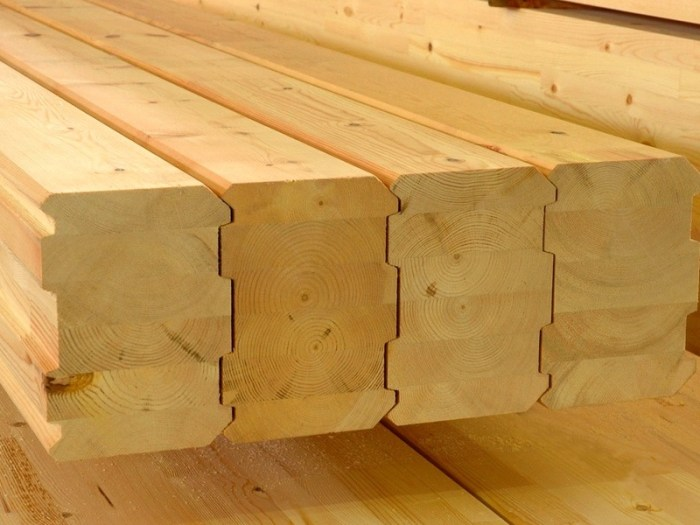Профилированный брус: применение при строительстве малоэтажных зданий