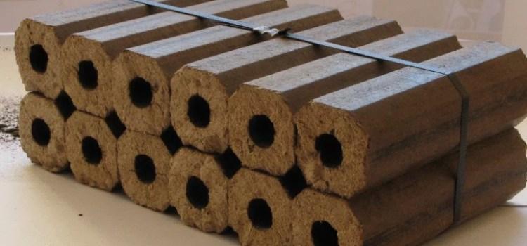 Особенности применения топливных брикетов