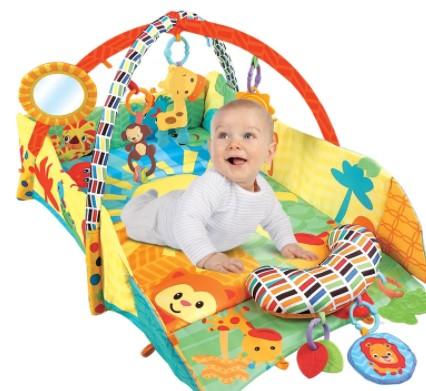 Развивающие коврики для новорожденных