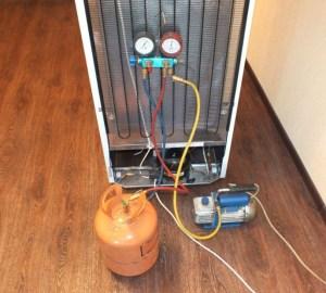 Ремонт холодильника на дому