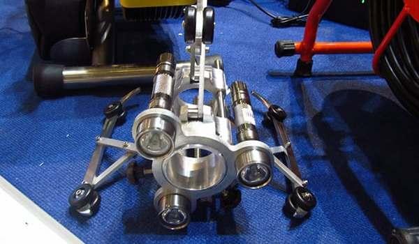 Механическая, гидродинамическая прочистка трубопровода