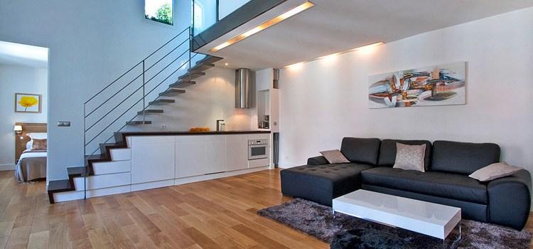 особенности двухуровневых квартир