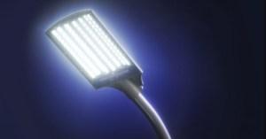 Светодиодная уличная лампа