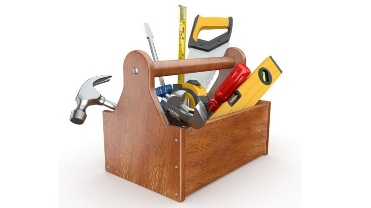 Инструменты, необходимые во время ремонта