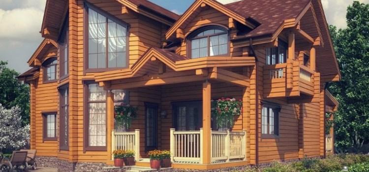 Деревянные дома — достоинства