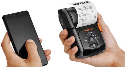 мобильный принтер bixolon spp-r200iiibk