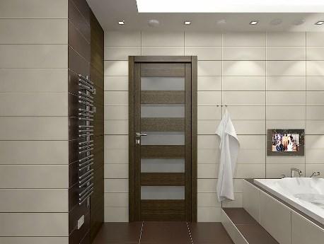 Тщательный подход к выбору двери для ванной комнаты