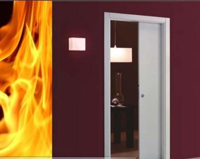 Безопасность деревянных огнестойких дверей