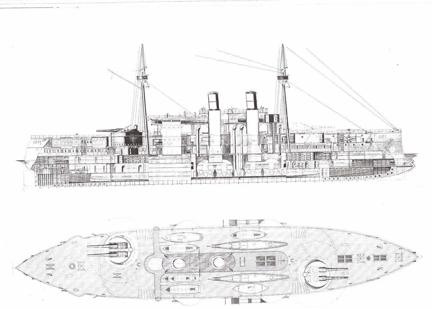 Battleship Photo Index Uss Maine 2nd Class Battleship