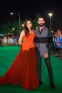 shahid and mira in iifa 2017