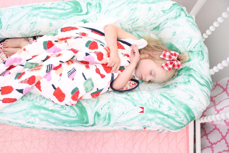 Dockatot Review, Sleeping tips