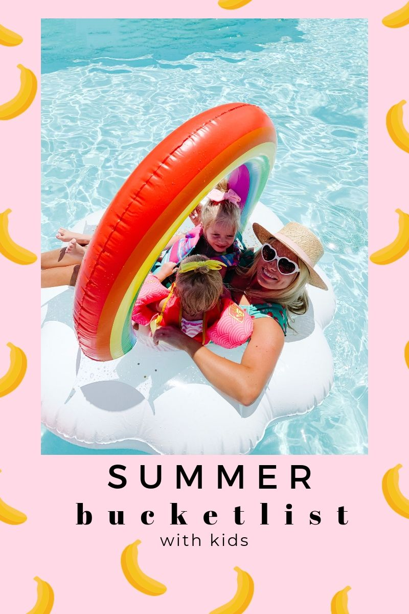 Summer Bucketlist with Kids