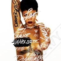 "Rihanna announces new album artwork ""Unapologetic"""