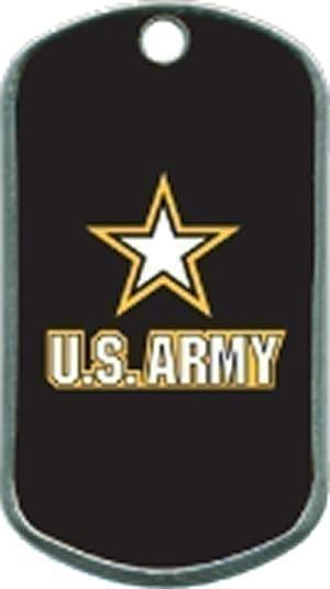 US Army Custom Military Dogtag