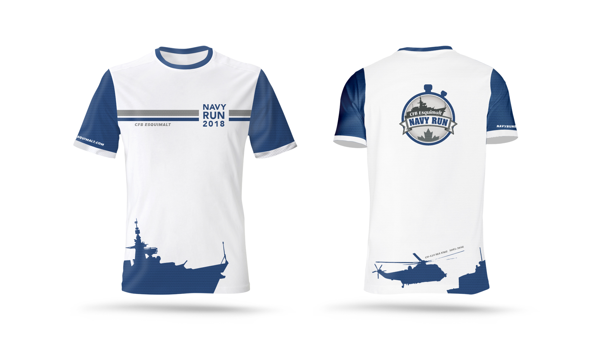 Navy Run 2018 T-Shirt