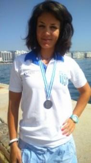 Με το ασημλενιο μετάλλιο του παγκοσμίου πρωταθλήματος