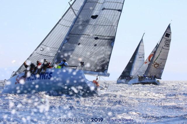 Mε συναρπαστικές «μάχες» ολοκληρώνεται η Aegean Regatta 2019
