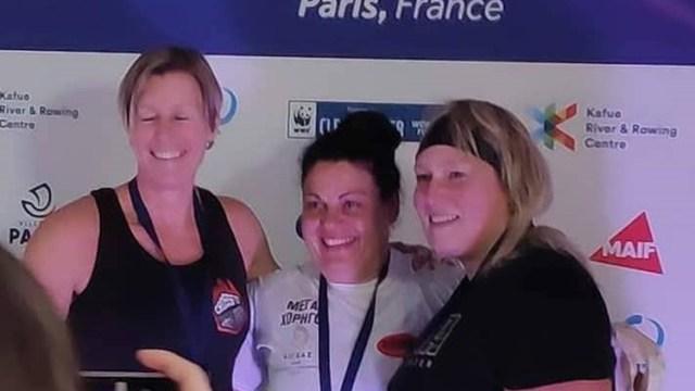 Χρυσό μετάλλιο η Γεωργία Περάματζη στο Παγκόσμιο κλειστής κωπηλασίας στο Παρίσι