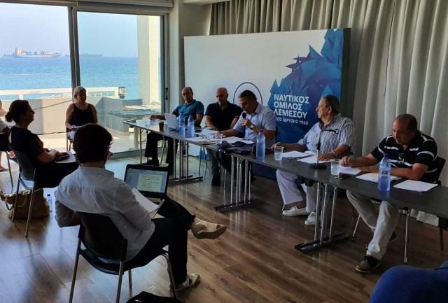 Το νέο Διοικητικό Συμβούλιο του Ναυτικού Ομίλου Λεμεσού