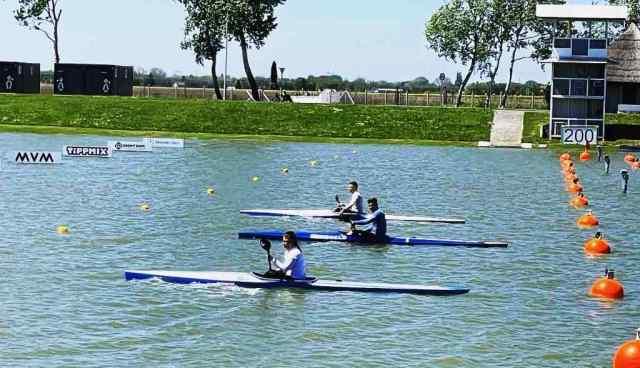 3 αθλητές της ελληνικής Εθνικής Ομάδας Κανόε Καγιάκ στην πανευρωπαϊκή πρόκριση στις 14-15/05 στο Szeged της Ουγγαρίας