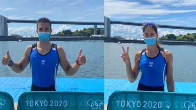 Mε το δεξί στους Ολυμπιακούς Αγώνες Αννέτα Κυρίδου και Στέφανος Ντούσκος – Πέρασαν απευθείας στα προημιτελικά