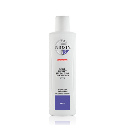 Nioxin System 6 Scalp Revitalizing Conditioner Chemically Treated Hair