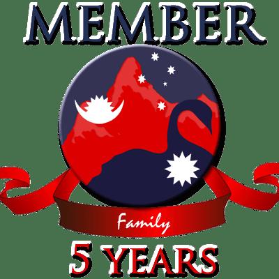 Family membership – 5 years