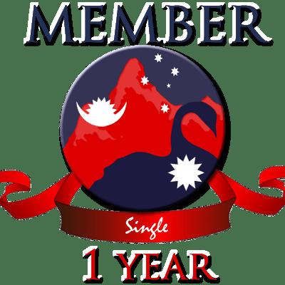 Single membership 2 years
