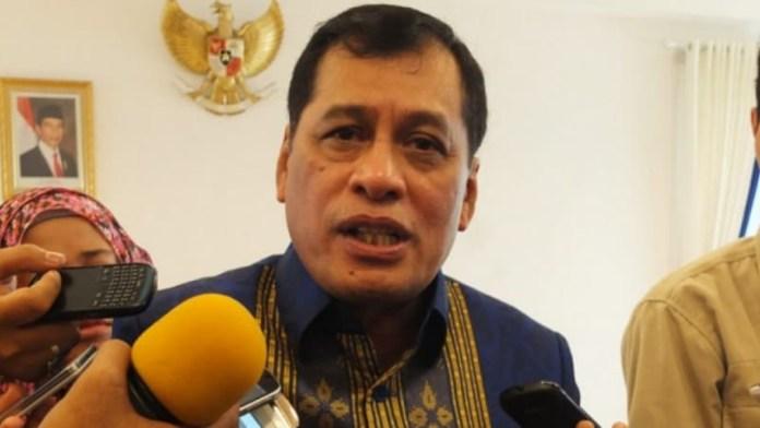Ketua Umum Dewan Koperasi Indonesia,Nurdin Halid