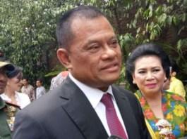 Mantan Panglima TNI Jenderal (purn) Gatot Nurmantyo