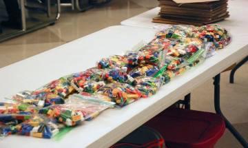 Supplies - Legos and materials