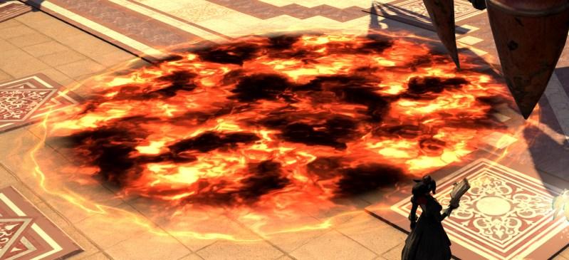 Illustration - Puddle de feu