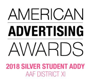 ADDY Silver Student Award District XI 2018