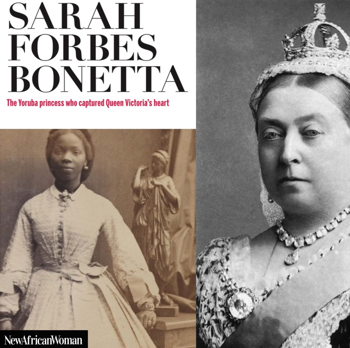 African Girl Living With Queen Victoria