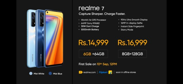 Realme 7 and 7 Pro launched with Quad Rear camera setup and punch hole display: Specification, Price