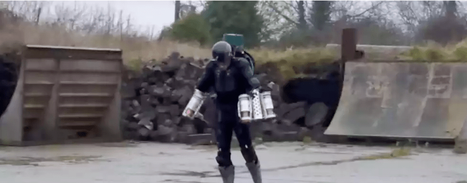 Real-life Tony Stark Demonstrates His Iron Man Suit