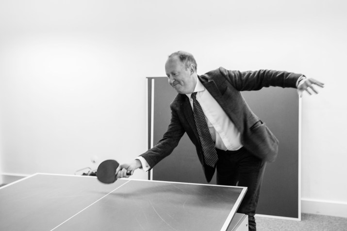 James Naylor, Table Tennis